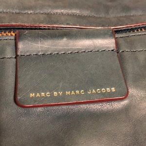 Marc By Marc Jacobs Bags - Teal leather Marc by Marc Jacobs Moto shoulder bag